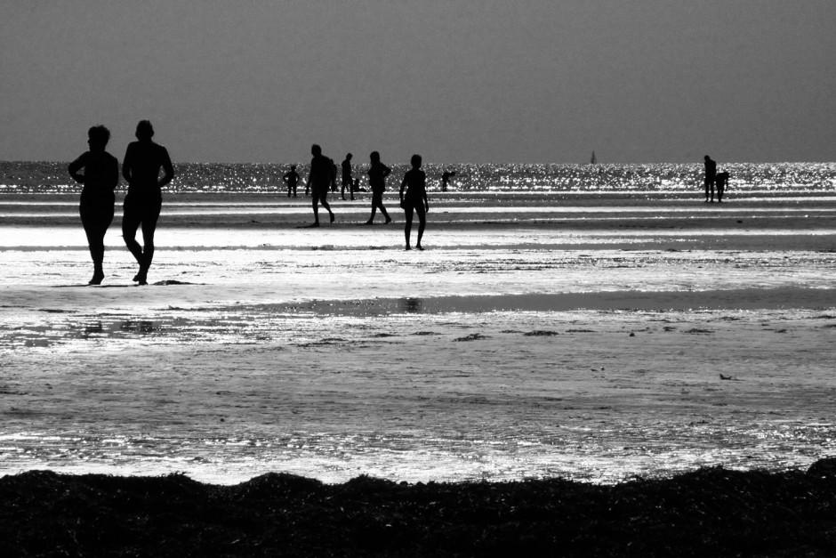 Strand-Spiegelung